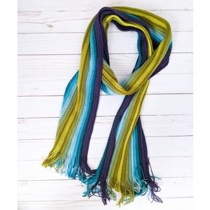 Fair Weather Accessories Colorful Striped Scarf